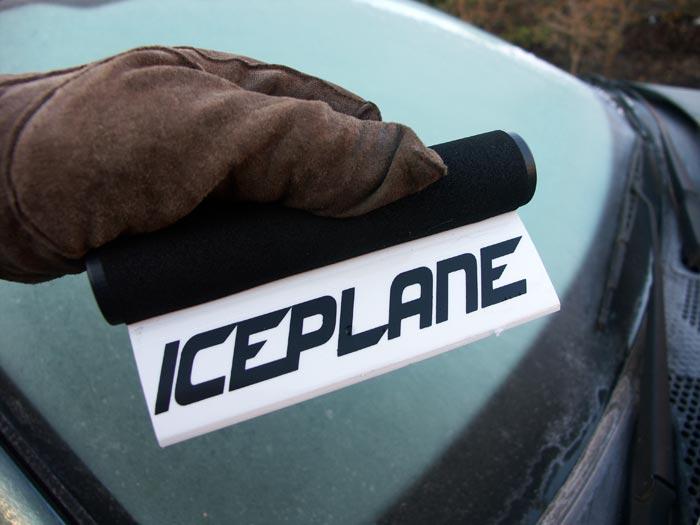 Iceplane New Car Window Ice Scraper